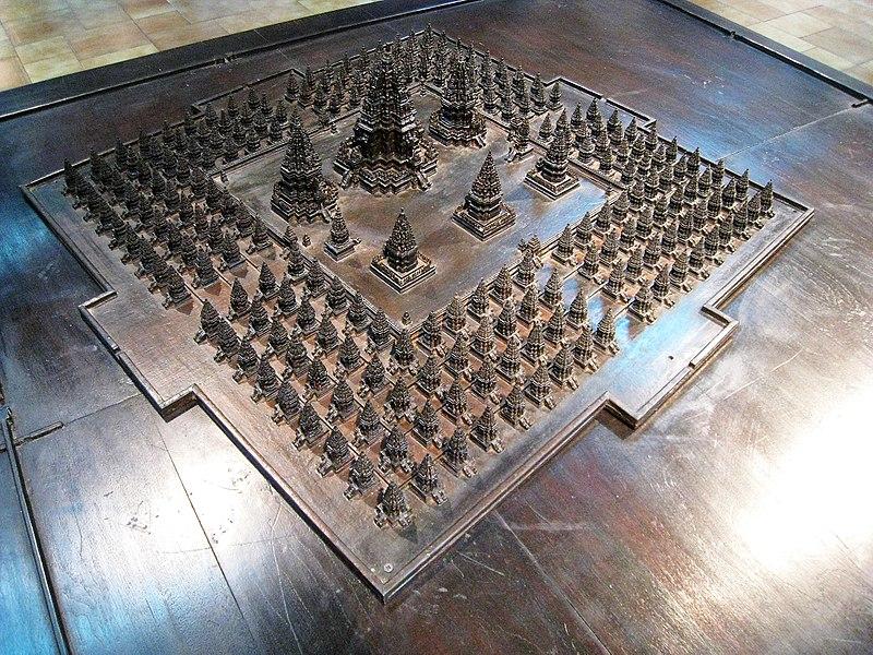 Berkas:Prambanan Architectural Model.jpg