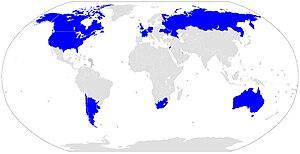 Español: Este mapa señala donde está la mayori...