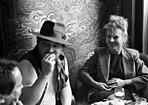 Rainer W. Fassbinder und Hanna Schygulla bei den Filmfestspielen von Venedig 1980