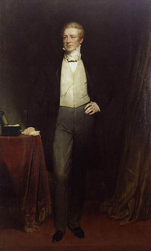 Sir Robert Peel, 2nd Bt, by Henry William Pick...