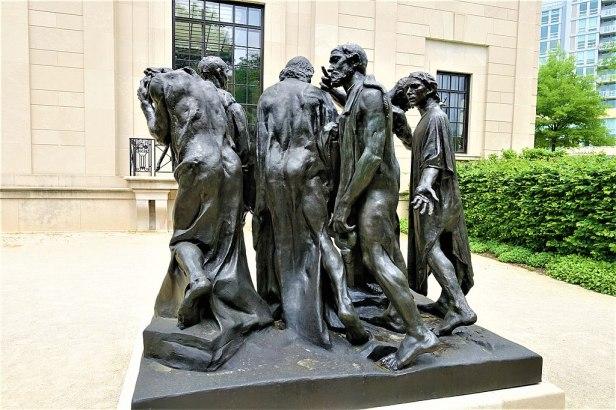 The Burghers of Calais - www.joyofmuseums.com - Rodin Museum, Philadelphia 2