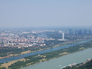 Danube, New Danube, Old Danube Deutsch: Donau,...