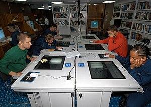 US Navy 040615-N-4190W-002 Sailors use compute...