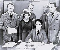 An American television digital production company. Founded in 1919 by this group of people? - United Artists