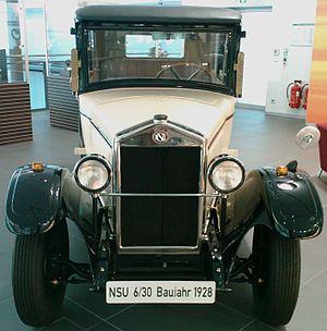 English: 1928 NSU 6/30 @ Audi Forum Neckarsulm