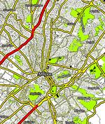 Πολύγωνο στον χάρτη: Αθήνα