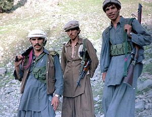 Mujahideen in Asmar, Afghanistan