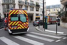 """Blutiger Anschlag auf die Redaktion des Satiremagazins """"Charlie Hebdo"""" (Bildquelle: Wikipedia)"""