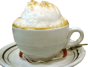 Cup of Coffee with foam
