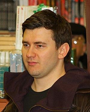 Russian fantasy writer Dmitry Glukhovsky meets...