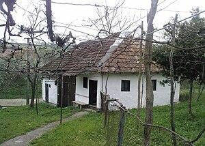 Română: Anexă gospodărie ţărănească din satul ...