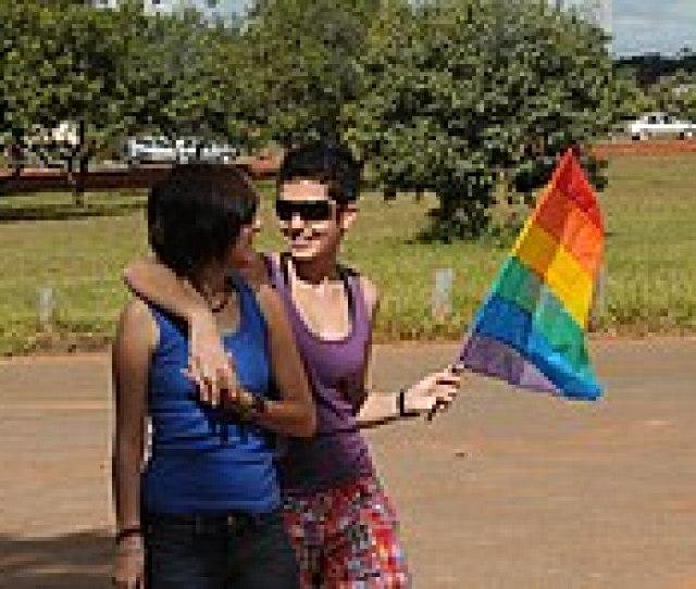 Lesbian Couple In Brasilia