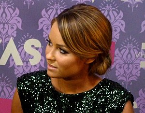 English: Lauren Conrad on the Red Carpet at Vh...