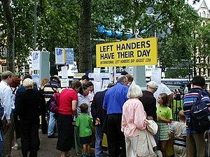 Left Handers' Day, August 13, 2002