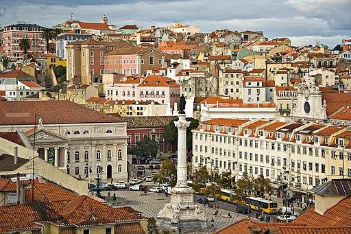 Lisbon 09882 Lisboa Praça don Pedro 2006 Luca Galuzzi