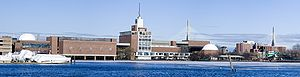 The Museum of Science, Boston. On the Charles ...