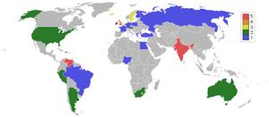 Miss World Map