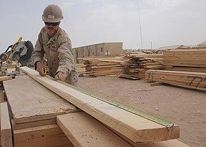 US Navy 090705-N-9410R-027 Builder 2nd Class E...