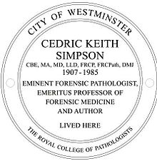 About Keith Simpson | Forensic pathologist | England ...