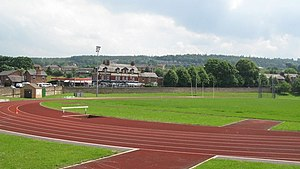 English: Wentworth running track