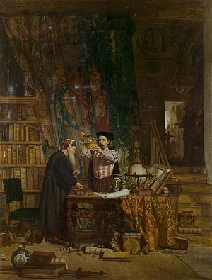 """The Alchemist"" by William Fettes Do..."