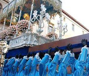 Trono Stma. Virgen de los Dolores.