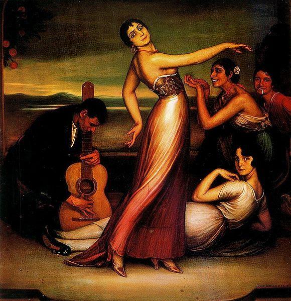 Archivo:Alegrías by Julio Romero de Torres.jpg