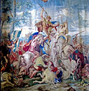English: Battle of Gaugamela (Arbela)