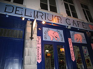 English: Exterior of Délirium Café