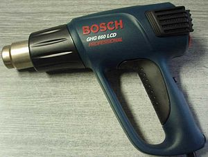 English: Bosch GHG 660 LCD heat gun Polski: Op...