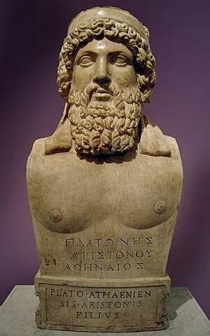Herma of Plato, Musei Capitolini, Rome