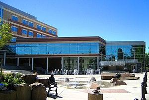 English: The Hillsboro Civic Center in Hillsboro.