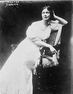 Isadora Duncan, American dancer