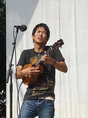 Ukelele player Jake Shimabukuro performing at ...