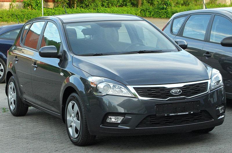 File:Kia cee'd 1.4 CVVT LX Facelift front 20100617.jpg