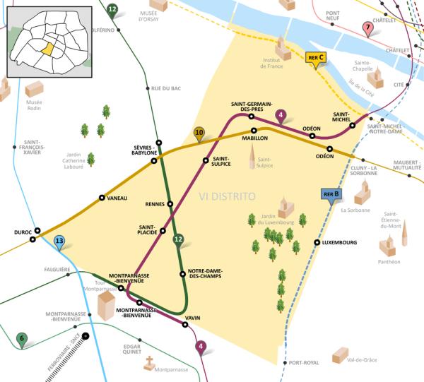 6th arrondissement of Paris Howling Pixel