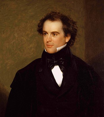 "Nathaniel Hawthorne in 1841, a ""prudent a..."