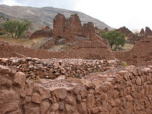 Piquillacta Archaeological site (building)