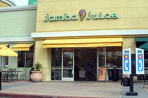 A Jamba Juice smoothie store in Santa Clara.