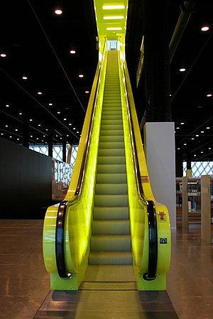 Seattle Library escalator