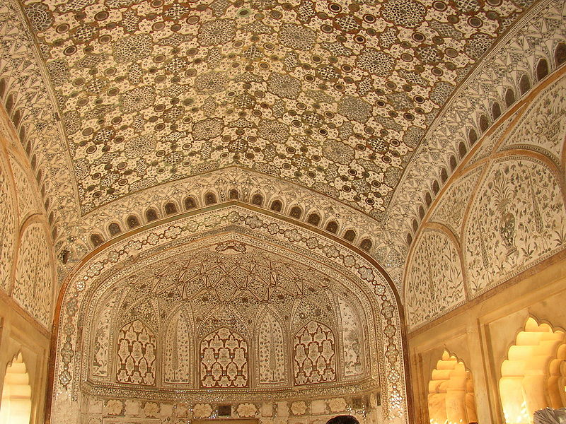File:Amber Fort interior.jpg