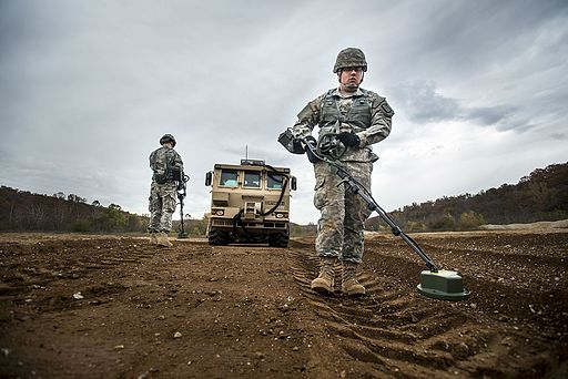 Army Reserve lays down the hammer, striking through mine fields with a force 141030-A-TI382-356
