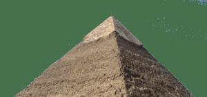 Deutsch: Nordostseite der Chephren-Pyramide au...