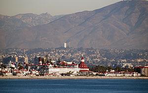 Hotel del Coronado in San Diego, California as...