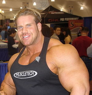 Jay Cutler (bodybuilder) in 2008.