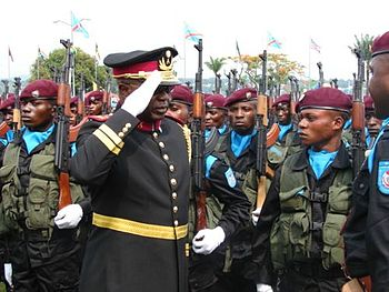 Congolese Chairman of the Joint Chiefs, Genera...