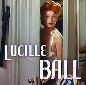 Cropped screenshot of Lucille Ball from the tr...