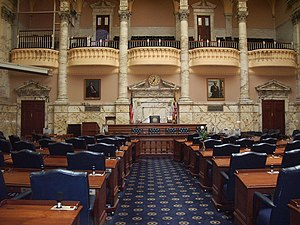 Chamber of House of Delegates, Maryland State ...