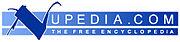 El logotipo de Nupedia.