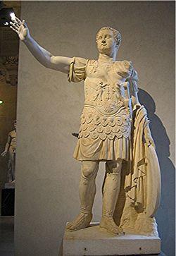 Tito Flavio Savino Vespasiano, emperador romano hijo de Vespasiano.